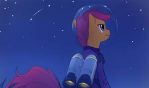 Spacegirl eReader by jlryan