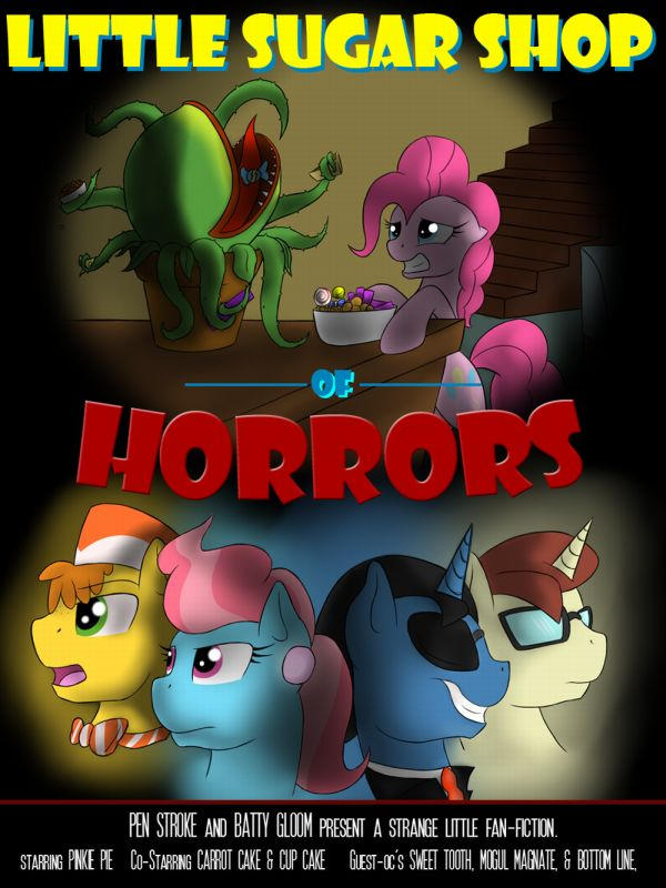 Little Sugar Shop of Horrors eReader by jlryan