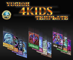 Yugioh 4Kids Version Template