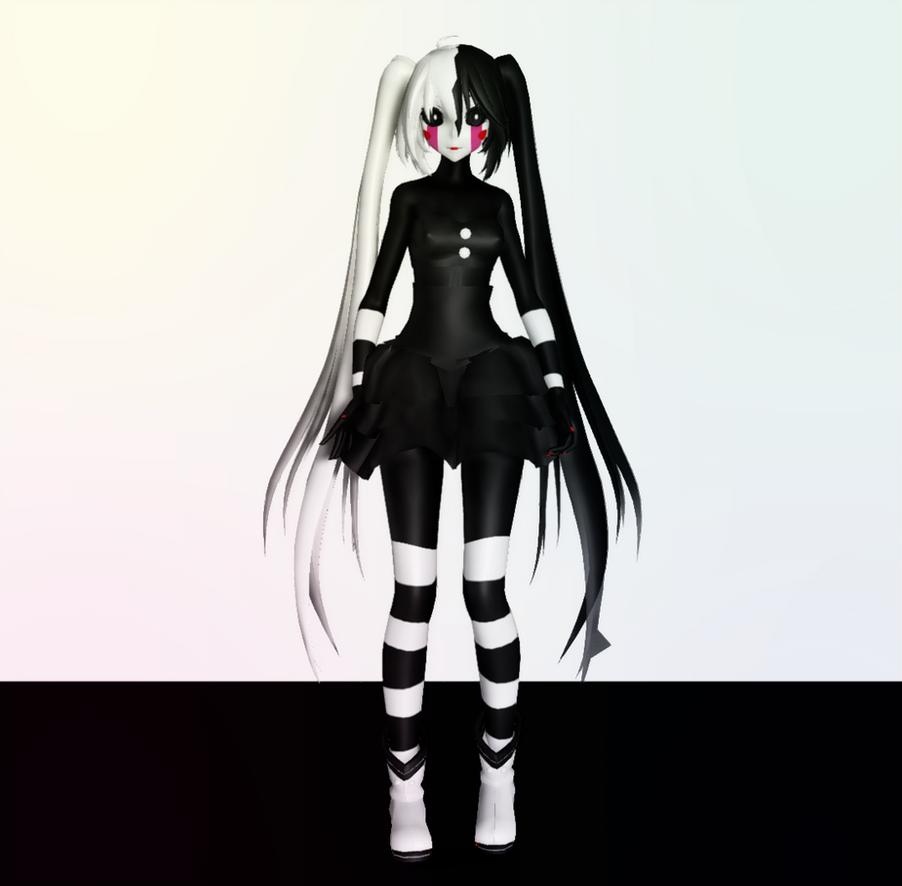 MMD Puppet+DL By Mangle200 On DeviantArt