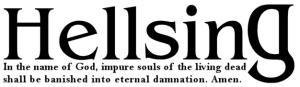 The Hellsing Font