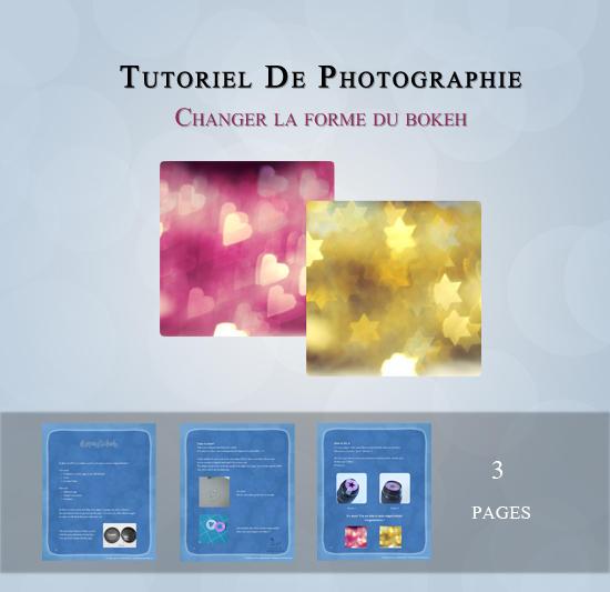 Changer la forme du bokeh - Tuto FR by andokadesbois