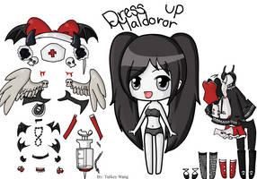 Maldoror Dress-up by Turkey-Wang