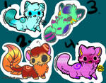 Adoptables-Only 4 Points Each!!!