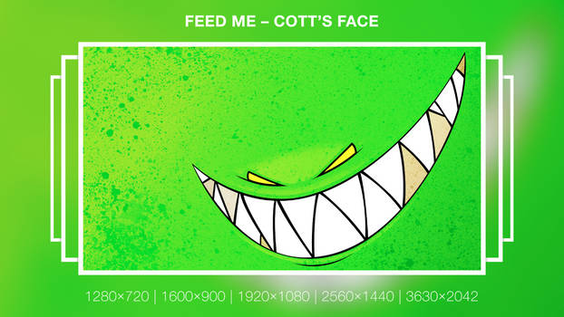 Cott's face Wallpaper