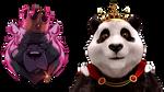 Tekken 7 Royal Bear Panel pack mod by BudderballManiac