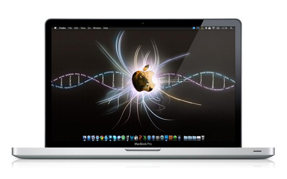 Apple DNA Wallpaper by felixufpe