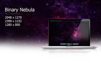 Binary Nebula by felixufpe