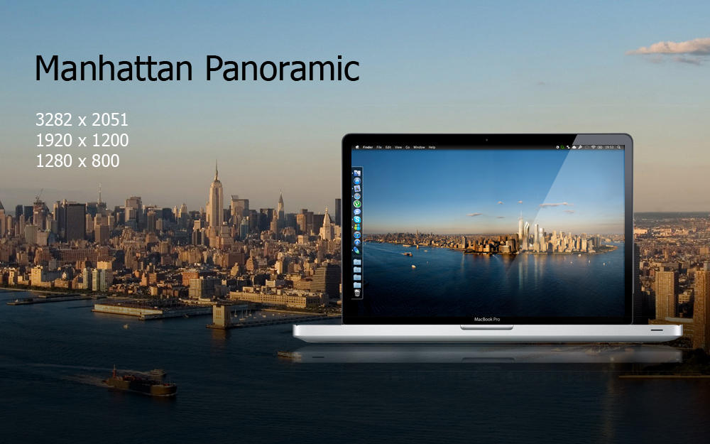 Manhattan Panoramic by felixufpe