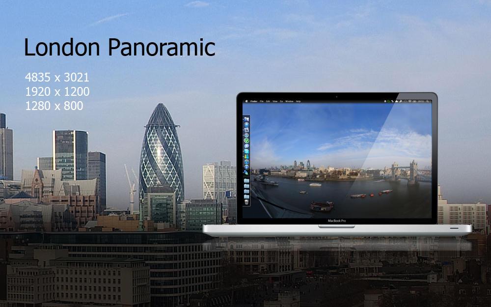 Lodon Panoramic by felixufpe