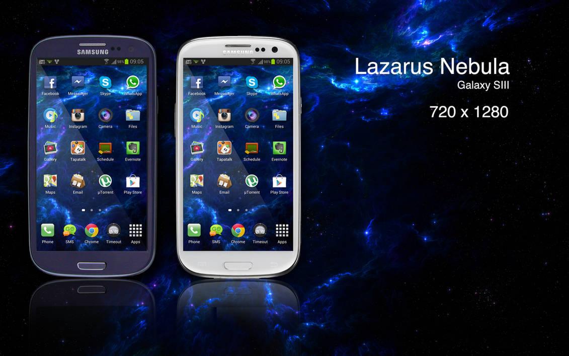 Lazarus Nebula Mobile Phone version by felixufpe on DeviantArt