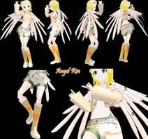 Newcomer - Lat Angel Rin - DL by MintyChipMMD