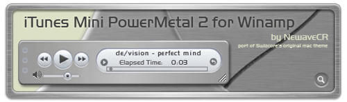 iTunes Mini Powermetal 2 by NewaveCR