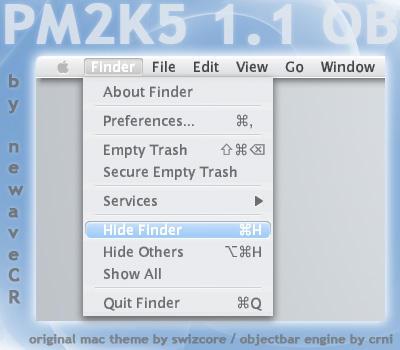 Pm2k5 1.1 Objectbar Skin by NewaveCR
