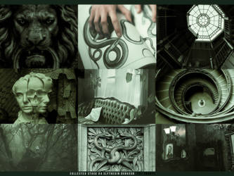 Collected Stock #4 Slytherin Dungeon by honeydewplum