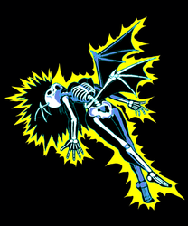 Electrocuted Morrigan Aensland GIF by Xenomic