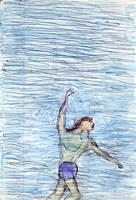 Swimming Back Up by tijodaslim