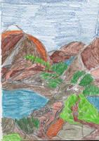 Hike Past Mountains by tijodaslim