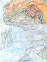Rocky Falls by tijodaslim