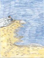 Walk to the Waves by tijodaslim