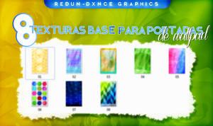 8 TEXTURAS BASE PARA PORTADAS by AdmireMyStyle