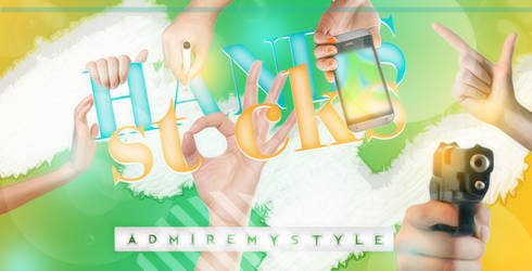 HANDS STOCKS PACK PNG by AdmireMyStyle