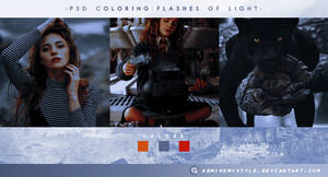 PSD COLORING #10  FLASHES OF LIGHT