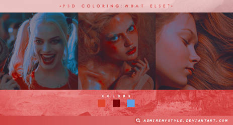 PSD COLORING #13 | WHAT ELSE?