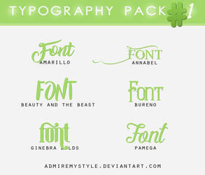 TYPOGRAPHY PACK #1
