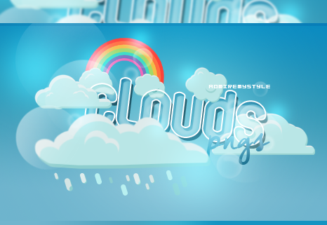 +CLOUDS PNG PACK by AdmireMyStyle