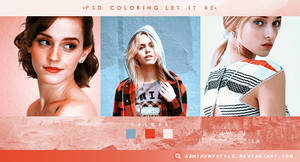 PSD COLORING #19 | LET IT BE by AdmireMyStyle