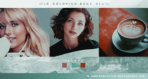 PSD COLORING #20 | BODY HEAT by AdmireMyStyle