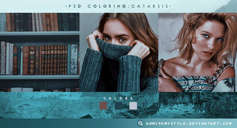 PSD COLORING #22 | CATARSIS by AdmireMyStyle