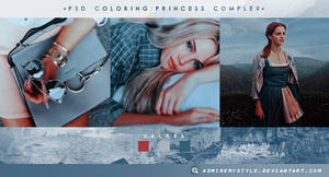 PSD COLORING #26 | PRINCESS COMPLEX by AdmireMyStyle