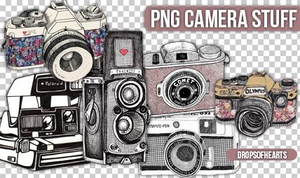 +Camera PNG Stuff. by DropsOfHearts