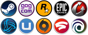 Game Client Icons