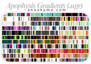 33 Apophysis Gradients by Holidai