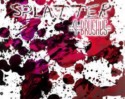 ::Splatter:: 9 Brushes by Sjetiska