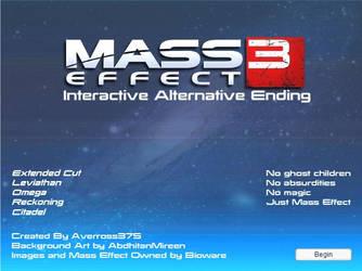 Mass Effect 3: Interactive Alternative Ending 1.4 by Averross