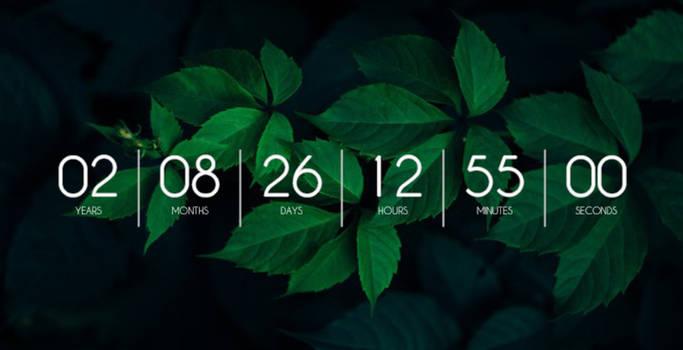 Countdown Timer for Rainmeter