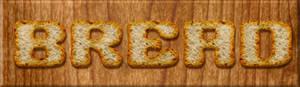 Bread - Photoshop Style