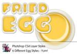 Fried Egg Photoshop Styles