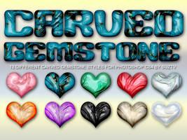 Carved Gemstone Styles by suztv