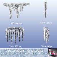 Icicles Stock Images by suztv