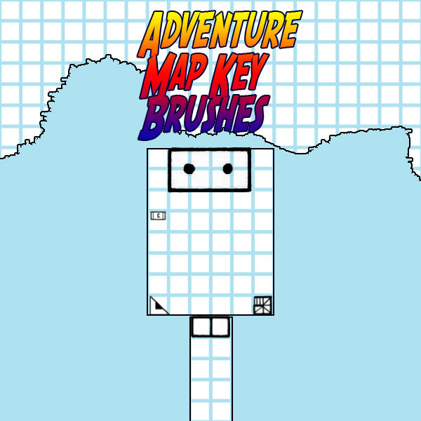 Adventure Map Key Brushes by JPHazen