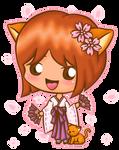 Mini Blinking Kyon-chan