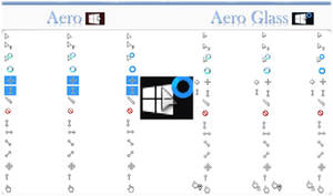 Aero Glass Cursor - Windows 10
