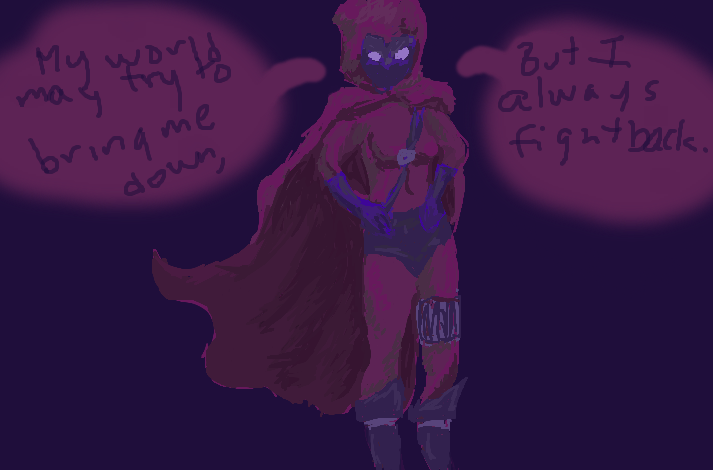 Aubergine Endures, Stephanie Brown, The Spoiler by daisyofthenight