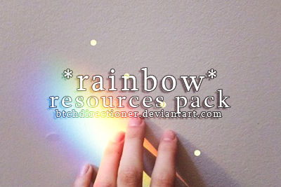 .rainbow resources pack