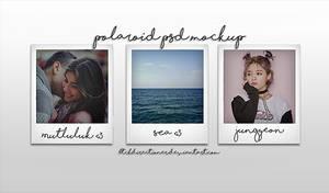 .polaroid psd mockup by btchdirectioner